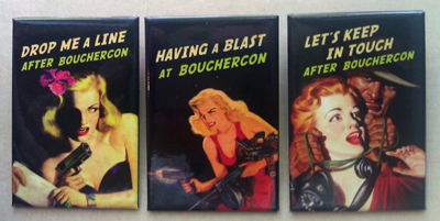buttons from BoucherCon