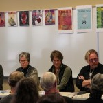 Martin Kihn (BAD DOG) and other members of the memoir panel.