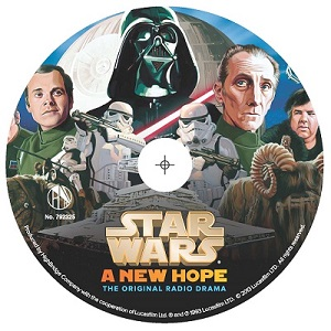 "Star Wars: A New Hope - The Original Radio Drama, Topps ""Dark Side"" Collector's Edition"