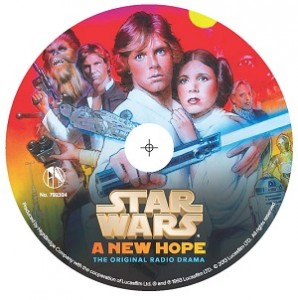 "Star Wars: A New Hope - The Original Radio Drama, Topps ""Light Side"" Collector's Edition"